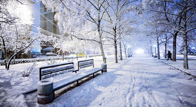 В Моску придут первые январские морозы