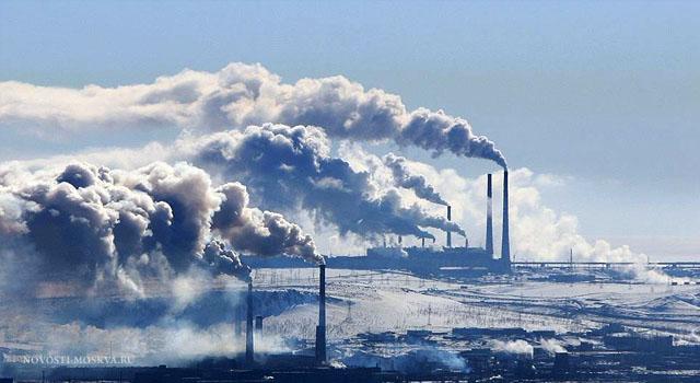 Сильные морозы в Москве