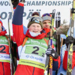 Московские биатлонисты покоряют пьедесталы юниорского чемпионата мира!