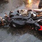 Печальная статистика мотоциклетных аварий Подмосковья минувшего года