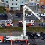 На юго-востоке Москвы прошли учения спасателей в реальных условиях