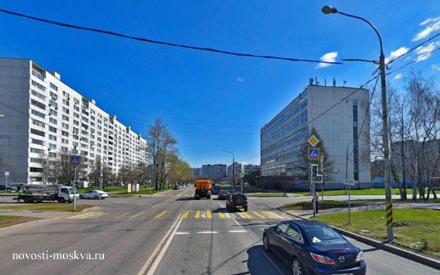 авария на Елецкой и Ясеневой