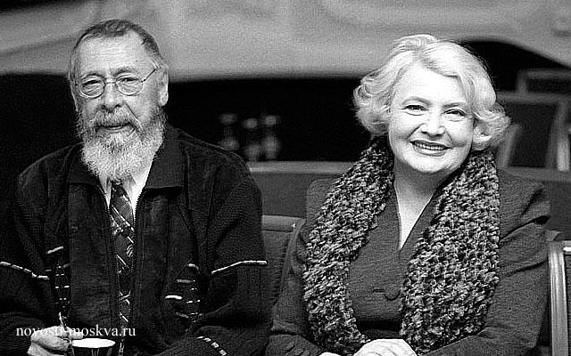 Олег Ефремов и Татьяна Доронина фото