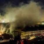 Пожар на складе в Мытищах: есть погибшие, в том числе ребенок