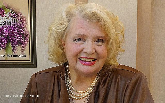Татьяна Доронина отмечает 85-летие