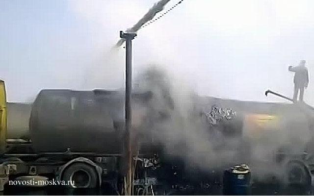 ЧП На стройке в Басманном: мужчина сварился в бурлящей смоле