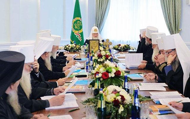 Священный синод заседание в Минске