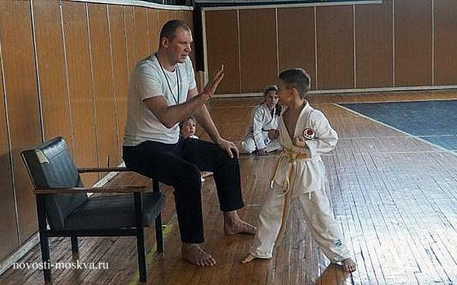 Валерий Новокшоно карате Мсоква