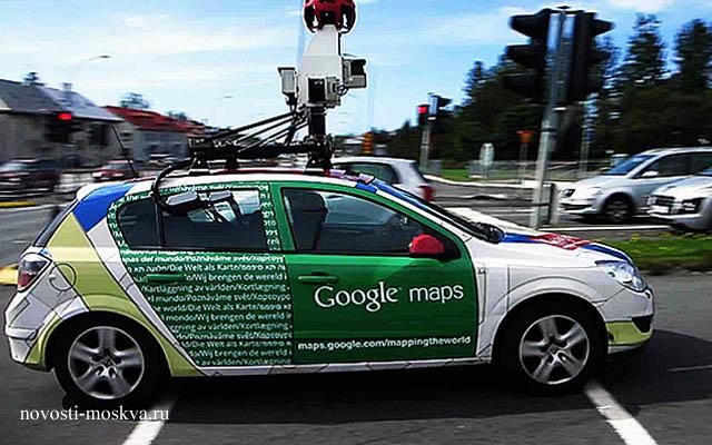 автомобиль службы гугл карты