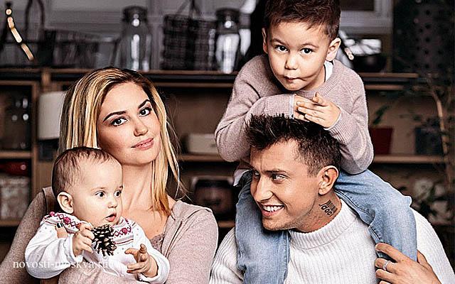 Прилучный с женой и детьми последние новости
