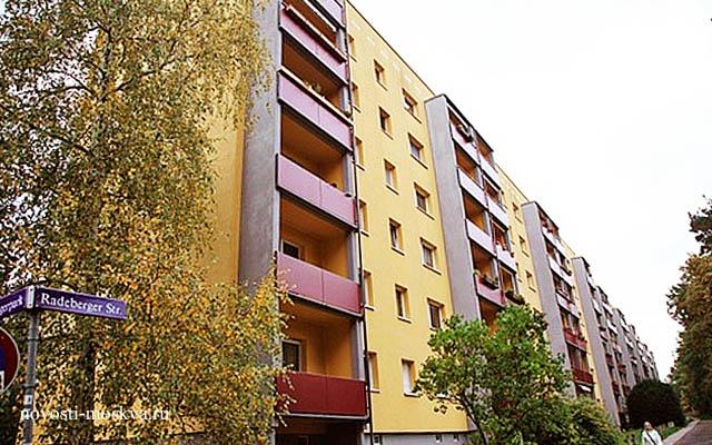 Дом, где жил Путин в Германии