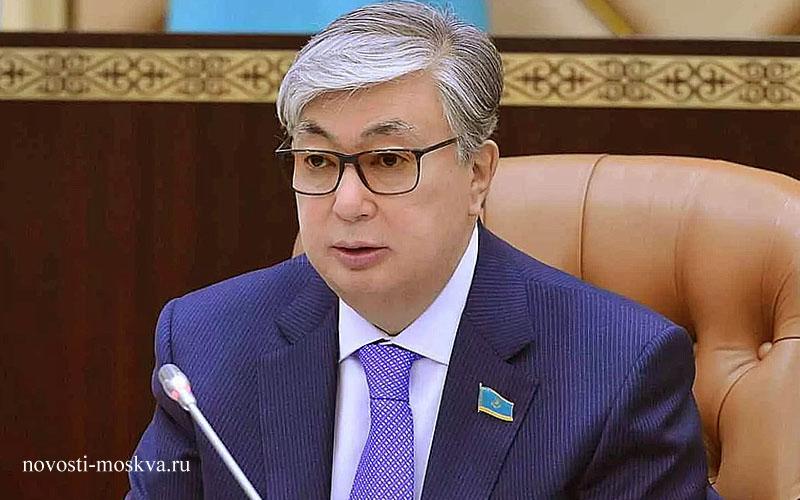 касым жомрат токаев ио президента Казахстана