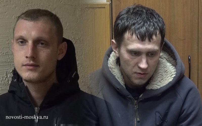 разббой в Щелково - фото напавших на таксиста преступников