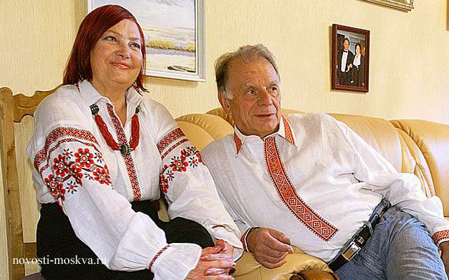 Жорес Алферов и его жена фото