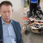 Депутат Госдумы Герасименко лишился прав за наезд на байкера