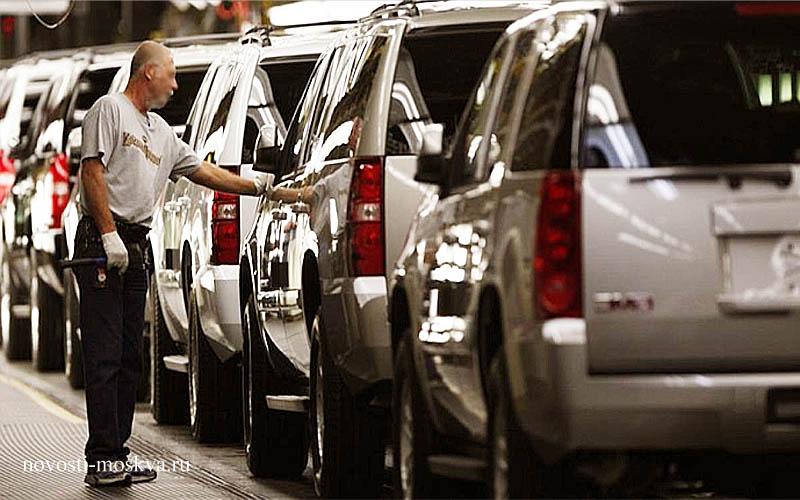 падение спроса на новые автомобили