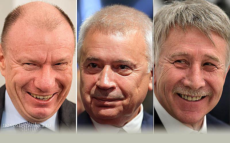 тройка лидеров списка Forbes в 2020 году
