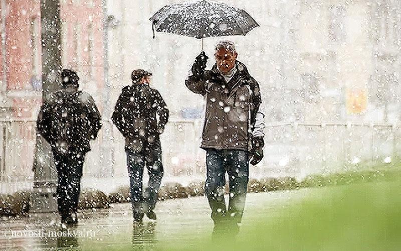 Ухудшение погоды в Москве и коронавирус
