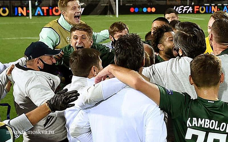 ЛЧ ПАОК Краснодар матч 30 сентября обзор