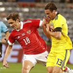 Шведы сделали два контрольных выстрела в ворота сборной России в контрольном матче