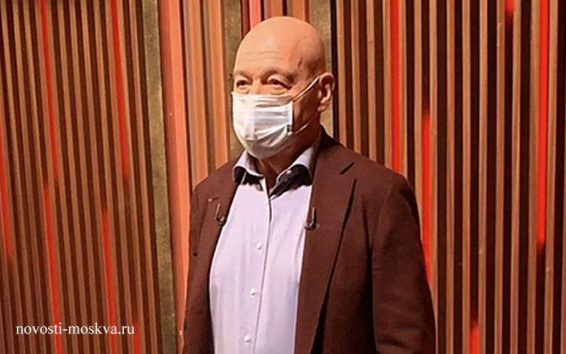 Владимир Познер: «Не носите маску – идите в вольер!»»
