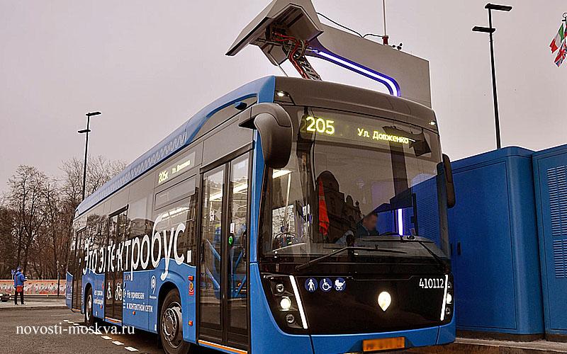 Электробусы продолжают вытеснять «классические» автобусы в Москве